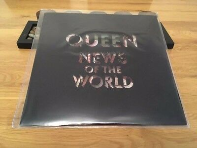 """Queen """"News of the World"""" limited edition picture disc album 1977 sold world wid"""