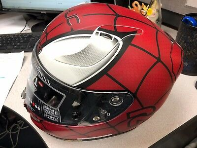 Hjc Rpha 11-Pro Marvel Spiderman Helmet X-Large Xl