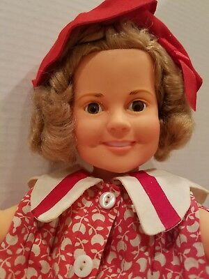 """Vintage Shirley Temple Doll by Ideal 16"""" 1972"""