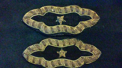 Original Set of US Civil War Shoulder Straps or Boards, 1 Star, Non-Regulation