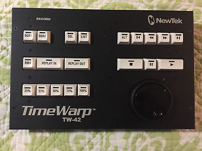 Gently Used NewTek TW-42 TimeWarp Control Surface Replay **RARE**