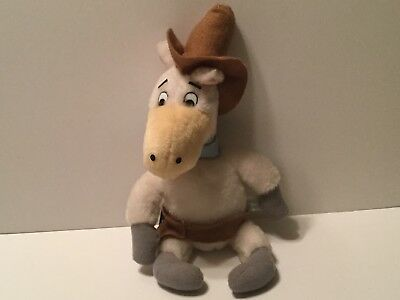 Quick Draw McGraw Horse Plush Toy Hanna Barbara 1989 13""