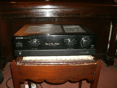 Pioneer A-400 integrated amplifier mm/mc phono input