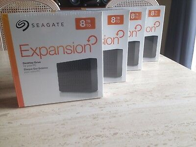 Disque dur externe 8 To Seagate Expansion 8To 8Tb  USB 3.0 NEUF Garantie 1 an