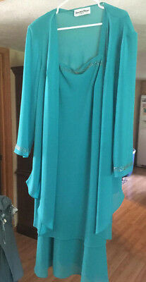 Nwots Ladies Another Thyme Dress & Jacket Formal Mother Of The Bride Size 20W