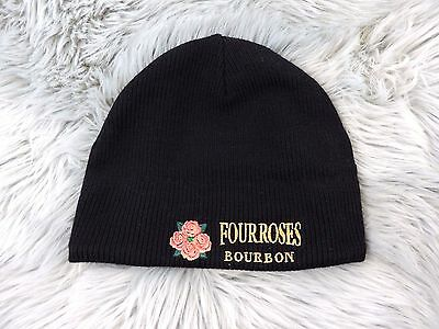 Four Roses Bourbon Black Beanie Tobaggen Hat