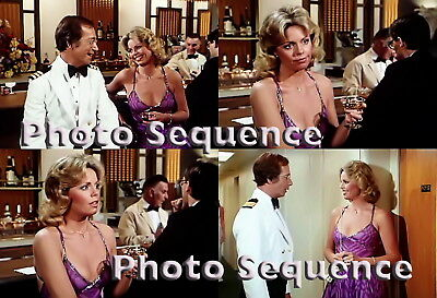 THE LOVE BOAT Toni Tennille Bernie Kopell PHOTO Sequence #01