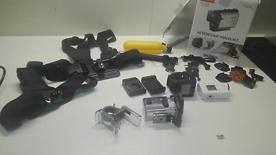 Sony FDR-X3000R 4K Action Cam Travel Pack