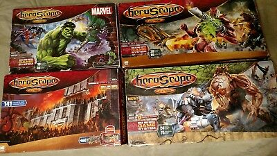 Huge Lot Heroscape 715 tiles, 80 figures, plus 141pc Fortress of the Archkyrie