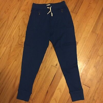 Crewcuts French Terry Sweat Pants Girls 8 Blue