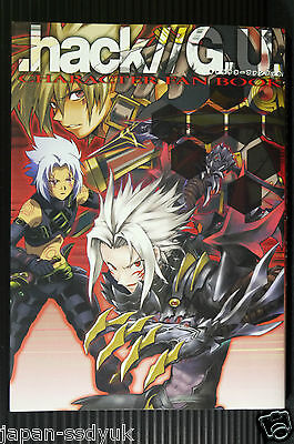 JAPAN .hack//G.U. Character Fan Book (G.U.and Roots) 2006 OOP