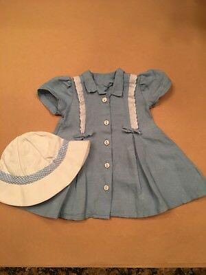 American Girl Molly Route 66 Outfit - Dress & Hat - Retired and Rare