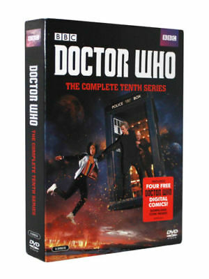 Doctor Who The Complete Tenth Series (DVD, 2017,5-Disc Set) Brand New Sealed