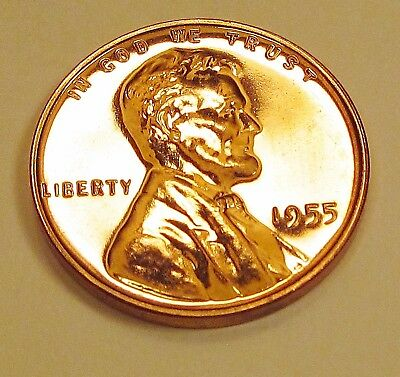 1955   Wheat   Proof     > Exact   Coin   Pictured <   #1018  30