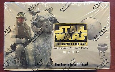 Star Wars CCG Hoth Limited Booster Box by Decipher - Factory sealed
