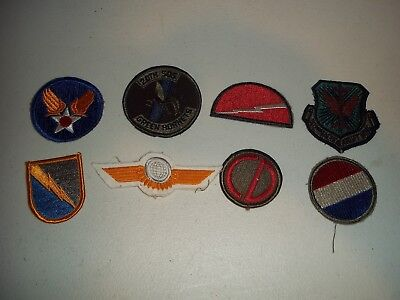 Wwi Wwii Korean War Vietnam Us Army Patch Lot #130