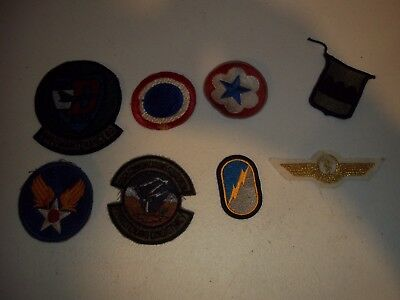 Wwi Wwii Korean War Vietnam Us Army Patch Lot #131