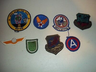 Wwi Wwii Korean War Vietnam Us Army Patch Lot #132