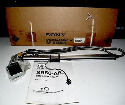 15 inch SONY DIGITAL READOUT MAGNESCALE (DRO) SCALE SR50 -040A WITH HKCOC3 CABLE