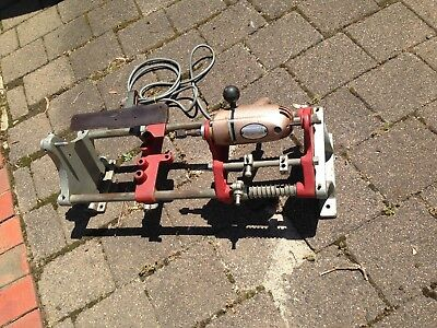 Vintage Sher Lathe ( 2 Speed ) Looks To Be In G W O --- Very Clean Item Workmate