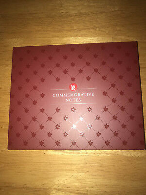 Singapore SG10 and SG50 Commemorative Notes in Folder Set