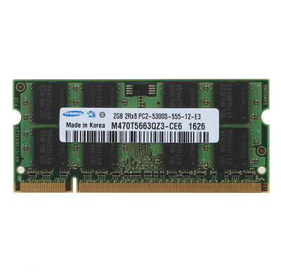 For Samsung Kit 1GB/2GB/4GB Laptop Memory RAM DDR2/DDR3 SO-DIMM Notebook Lot NEW