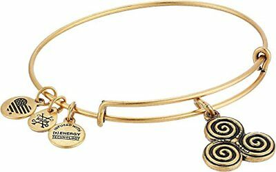 Alex and Ani Women's Triskelion Bangle Rafaelian Gold One Size