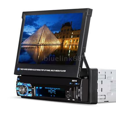 "7""Car Stereo Radio MP5 MP3 Player FM USB AUX Full HD Bluetooth Touch Screen N1K5"
