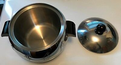 Vintage PENGUIN West Bend ICE BUCKET Hot & Cold Server MINT IN BOX! Never Used!
