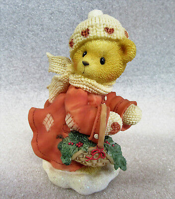 Cherished Teddies ~ These are the Best Kind of Days ~ Shirley Christmas Figurine