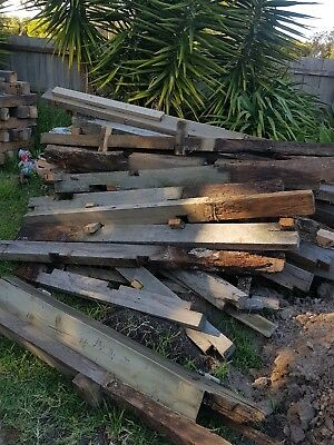 firewood - fencing posts mainly red gum some cypress ( 10 posts for $50)