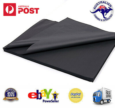 Black Tissue Paper Acid Free Ream Gift Wrap Wrapping Gift Packaging 1000 SHEETS