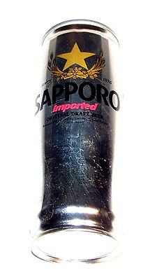 Sapporo Japan Pull Top Beer Can 22oz Keg A1+ Cone Sign Flat Soda Clock Pull Ofr