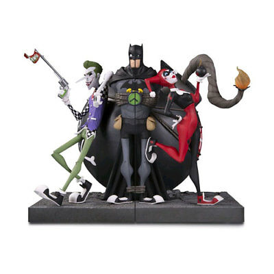 DC Gallery - Joker and Harley Quinn Bookends NEW DC Comics