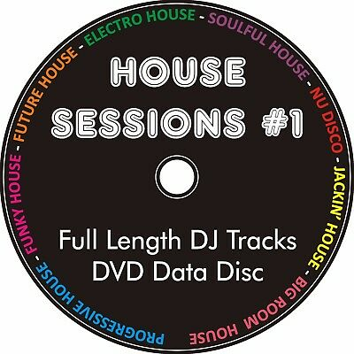 New funky house collection 2017 650 tracks mp3 dvd dj for Funky house tracks