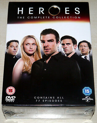 Heroes - The Complete Collection (DVD) - Seasons 1-4 - New & Sealed - UK Stock