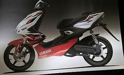 "YAMAHA AEROX 50 "" Sticker Set 18 Parts "" Original Yamaha"