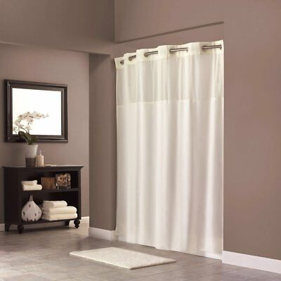 On Hookless Shower Curtain Polyester 70 X 74 Inch With