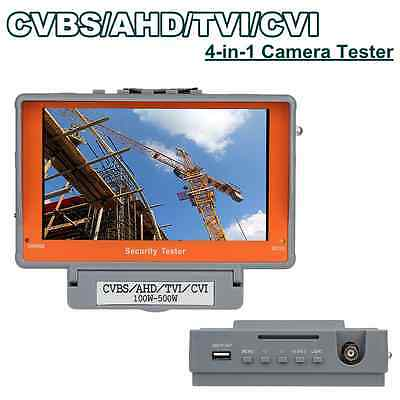 "4 in1 Wrist 5"" CVBS/AHD/TVI/CVI CCTV Camera Test Display Monitor Tester UTP DC"