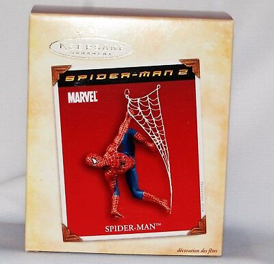Hallmark Ornament 2004 Spider-man  Mint In Box