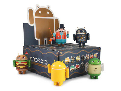 ANDROID MINI COLLECTIBLE: VINYL ART FIGURE Series 3,4,5 OPEN robot mascot dunny