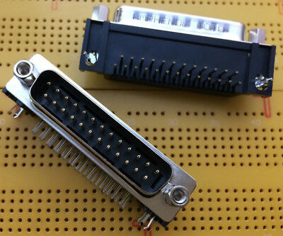 25 Way D-Sub Male Connector Panel Mount SD Series 5A L717SDB25P Multi Qty