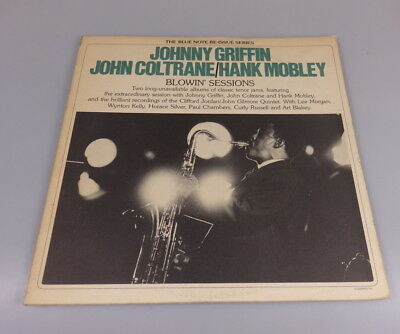 LP Johnny Griffin, John Coltrane, Hank Mobley: Blowin' Sessions, 1975 Blue Note