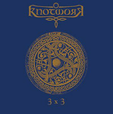 KNOTWORK - 3x3 EP blue Viny!! Blood Axis OF THE WAND AND THE MOON Death in June