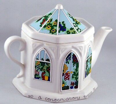 Wade Teapot England 'A Life Conservatory' Octagon Design by Smith & Wootton