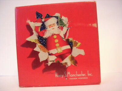 Vintage Harry S Manchester, Madison WI Store Christmas Cardboard Store Box