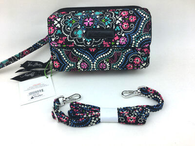 New with tags Vera Bradley All in One Crossbody and Wristlet in Disney Medallion