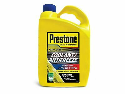 Prestone Antifreeze 4L Ready To Use Mix Summer Winter Engine Coolant 4 Litre