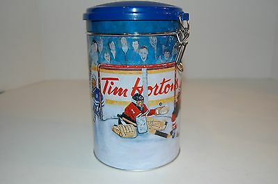 Limited Edition Tim Horton's Winning Goal Hockey theme tin #002