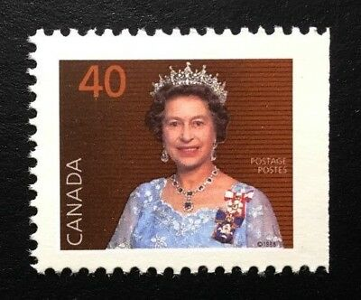 Canada #1168asi Right CPP MNH, Queen Elizabeth II Definitive Booklet Stamp 1990